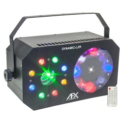 3 σε 1 Led Light Effect: GOBO + WASH/STROBE + LASER - Afx Light DYNAMIC-LZR