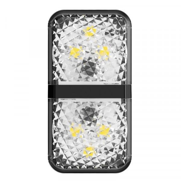 Baseus Προειδοποιητικό ανοιχτής πόρτας Door Open Warning Light CRFZD-01 (2τμχ) (Μαύρο)