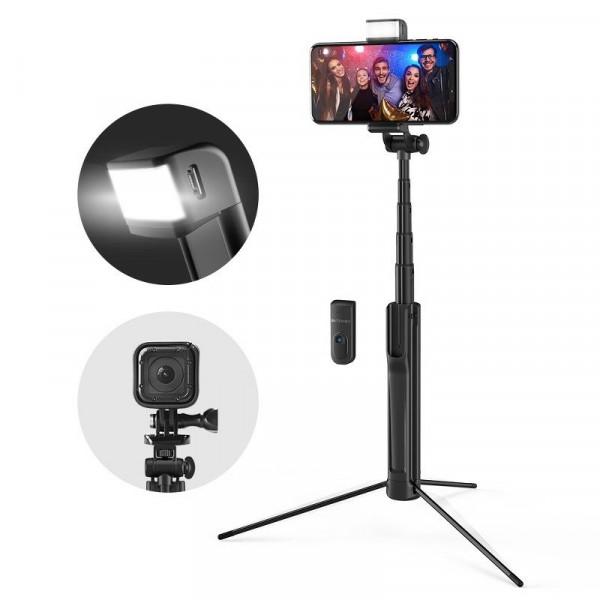 BlitzWolf BW-BS8 Selfie Stick & Τρίποδο με Fill Light