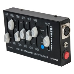 DMX CONTROLLER 12-CHANNEL - ibiza Light LC12DMX