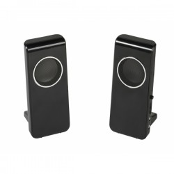 Vivanco 2.0 Mobile Stereo Speakers Usb - Black