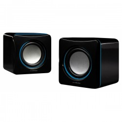 Vivanco Mobile Stereo Speakers USB - Μαύρο