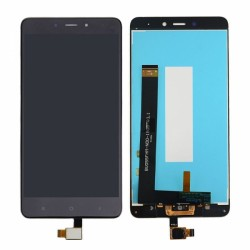 LCD XIAOMI REDMI NOTE 4 with digitizer black mediatek