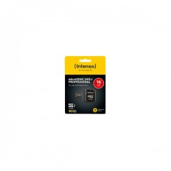 Memory Card microSD INTENSO PROFESSIONAL 16GB CLASS 10