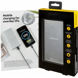 INTENSO POWERBANK Q10000 QUICK CHARGE 10000MAH silver