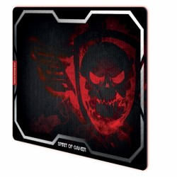 Spirit Of Gamer Gaming Mouse Pad XL 435 x 323 x 3 mm Red Smokey Skull