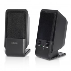 Sog Advance Soundphonic 2.0 Multimedia Speakers 4W RMS - Μαύρο