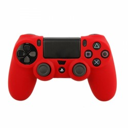 SENSO SILICONE CASE FOR PS4 red