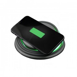 Ksix Qi UNIVERSAL FLEXYLIGHT FAST WIRELESS CHARGER 10W WITH 4 COLORS LAMP