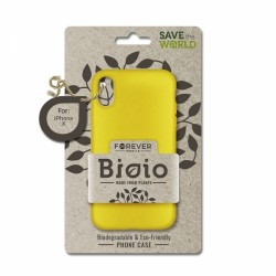 FOREVER BIOIO CASE IPHONE X XS yellow backcover