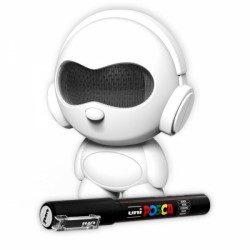 TNB PORTABLE BLUETOOTH SPEAKER PANDA CUSTOMABLE