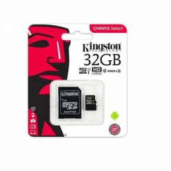 Memory Card microSD KINGSTON 32GB CLASS 10 UHS 80 MB/s