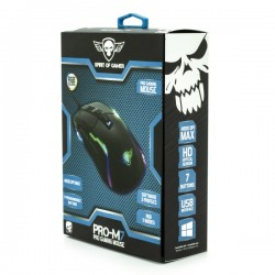 SOG PRO M7 USB Optical Gaming Mouse DPI 4800 MAX