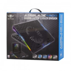 "SOG AIRBLADE COOLING PAD 17"" RGB 800RPM"