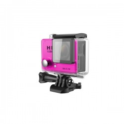 ACTION SPORT CAMERA 1080p WIFI 30m water resistant pink