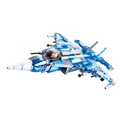 SLUBAN Army Fighter Jet 6 into 1 Gift Box Packing M38-B0665