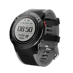 SW ADM18 Smart Watch Fitness Gps - Μαύρο